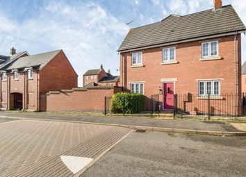 Thumbnail 3 bed detached house for sale in Dairy Way, Kibworth Harcourt, Leicester, Leicestershire