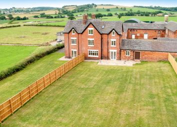 Thumbnail 6 bed farmhouse to rent in Hungerford Lane, Madeley, Crewe