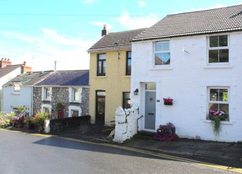 Thumbnail 3 bed terraced house for sale in Castle Road, Mumbles, Swansea