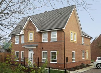 "Thumbnail 3 bedroom semi-detached house for sale in ""Morpeth"" at Lantern Lane, East Leake, Loughborough"
