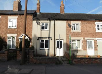 Thumbnail 2 bed terraced house for sale in Tamworth Road, Ashby-De-La-Zouch