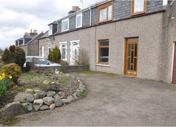 Thumbnail 4 bed end terrace house for sale in Kingseat Road, Newmachar