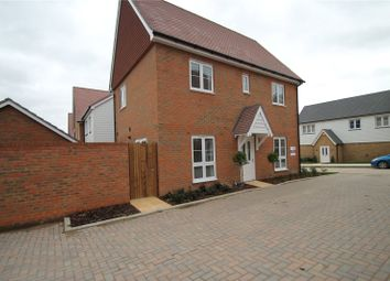 Thumbnail 3 bedroom link-detached house to rent in Flora Way, Hoo, Rochester