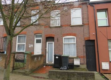 Thumbnail 2 bedroom terraced house for sale in Ferndale Road, Luton