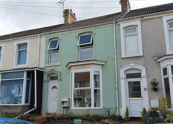 Thumbnail 4 bed terraced house to rent in Marlborough Road, Brynmill, Swansea.