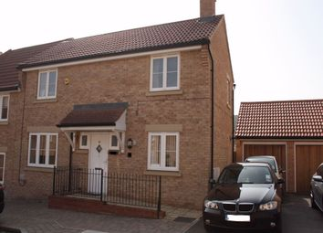 Thumbnail 3 bedroom semi-detached house to rent in Cagney Crescent, Oxley Park, Milton Keynes, Buckinghamshire