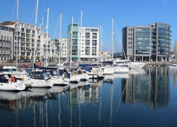 Thumbnail 2 bedroom flat for sale in Pinnacle Quay, Sutton Harbour, Plymouth