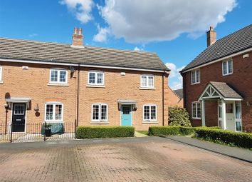 Thumbnail 3 bed semi-detached house for sale in Spinners Way, Shepshed, Leucestershire