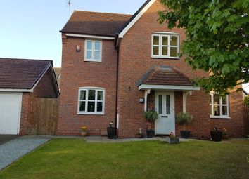 Thumbnail 4 bed detached house for sale in Delamere Close, Weston, Crewe