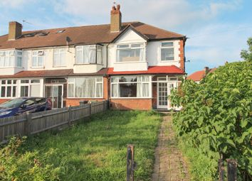 Thumbnail 3 bed end terrace house to rent in Vale Road, Worcester Park, Surrey