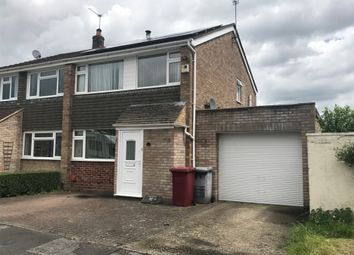 Thumbnail 3 bedroom semi-detached house to rent in Glennon Close, Reading