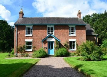 Thumbnail 5 bed detached house for sale in Walk Mill House, Walk Mill, Eccleshall, Staffordshire.