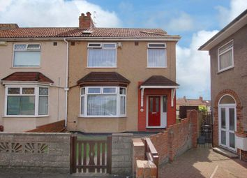 Thumbnail 4 bedroom end terrace house for sale in Worcester Close, Bristol