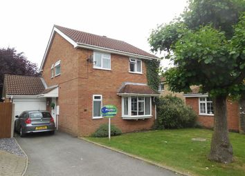 Thumbnail 4 bed detached house for sale in Kent Drive, Hinckley