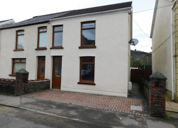 Thumbnail 3 bedroom semi-detached house for sale in Ynysderw Road, Pontardawe, Swansea.