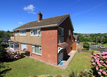 Thumbnail 3 bed semi-detached house for sale in Knapps Close, Plymouth
