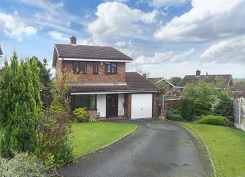 Thumbnail 3 bedroom detached house for sale in Chetwynd Close, Stirchley, Telford, Shropshire