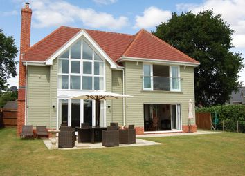 Thumbnail 4 bed detached house for sale in Cliff Road, Waldringfield, Woodbridge