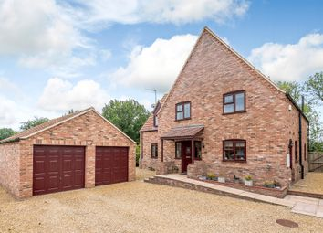 Thumbnail 4 bed detached house for sale in Chequers Lane, North Runcton, King's Lynn