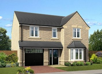 "Thumbnail 4 bed detached house for sale in ""The Tonbridge"" at Crofters Green, Killinghall, Harrogate"