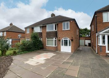 Thumbnail 3 bed semi-detached house for sale in Merevale Road, Solihull