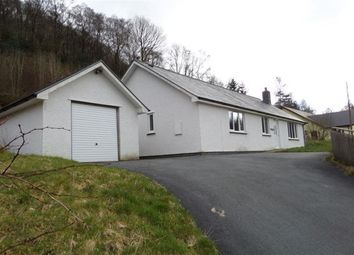 Thumbnail 4 bed bungalow to rent in Pontrhydygroes, Ystrad Meurig