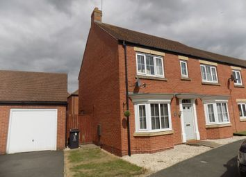 Thumbnail 4 bed semi-detached house for sale in Stardust Crescent, Swindon
