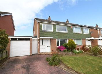 Thumbnail 3 bed semi-detached house for sale in Hether Drive, Lowry Hill, Carlisle, Cumbria