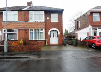 Thumbnail 3 bedroom semi-detached house for sale in Ashbourne Road, Denton, Manchester