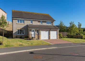 Thumbnail 5 bed detached house for sale in Lairburn Drive, Clovenfords, Galashiels