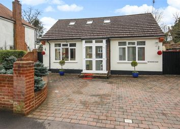Thumbnail 3 bed detached bungalow for sale in Rosebery Road, Epsom, Surrey