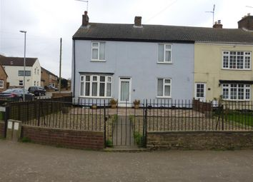 Thumbnail 3 bedroom end terrace house for sale in Cross Street, Farcet, Peterborough