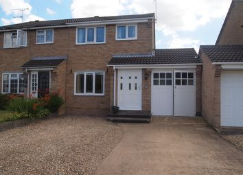 Thumbnail 3 bed property for sale in Edward Road, Fleckney, Leicester