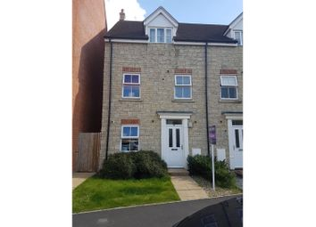 Thumbnail 3 bed town house for sale in Dyson Road, Swindon