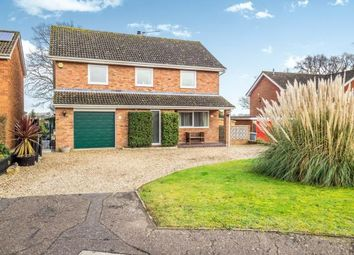 Thumbnail 4 bedroom detached house for sale in Wroxham, Norwich, Norfolk