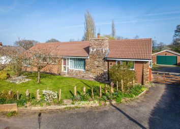 Thumbnail 4 bed detached bungalow for sale in Station Road, Yeoford, Crediton