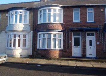 Thumbnail 3 bed terraced house to rent in Bishop Street, Middlesbrough
