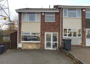 Thumbnail 3 bedroom property to rent in Clover Drive, Quinton, Birmingham