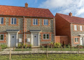 Thumbnail 2 bed semi-detached house for sale in Sandells Walk, Burnham Market, King's Lynn