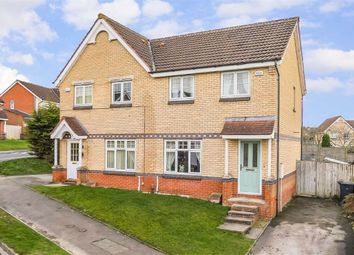 Thumbnail 3 bed semi-detached house for sale in Clover Way, Harrogate, North Yorkshire