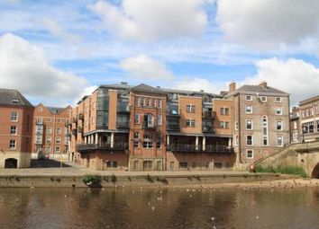Thumbnail 2 bed flat to rent in Bridge Street, York