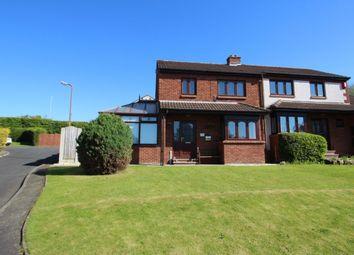Thumbnail 3 bed semi-detached house for sale in Blackburn Drive, Carleton, Carlisle
