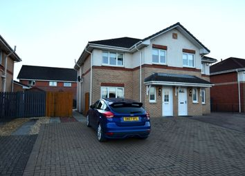 Thumbnail 3 bed semi-detached house for sale in Heather Gardens, Uddingston, Glasgow