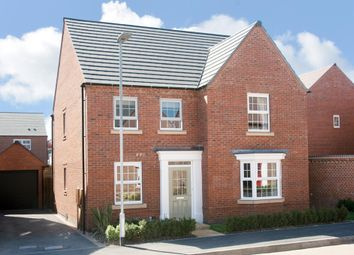 "Thumbnail 4 bed detached house for sale in ""Holden"" at Beggars Lane, Leicester Forest East, Leicester"