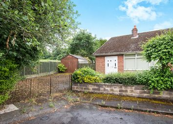 Thumbnail 2 bedroom bungalow for sale in Brentnor Close, Westonfields, Stoke-On-Trent