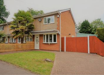 Thumbnail 2 bed end terrace house for sale in Polperro Way, Hucknall