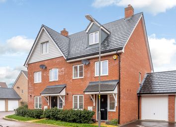 Thumbnail 3 bed semi-detached house for sale in Tyson Road, Aylesbury, Buckinghamshire