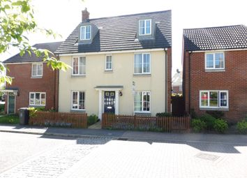 Thumbnail 5 bed detached house for sale in Cabinet Close, Dereham