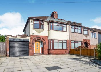 Thumbnail 3 bed semi-detached house for sale in Boundary Drive, Hunts Cross, Liverpool