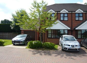 Thumbnail 3 bed semi-detached house to rent in Gore End Road, Ball Hill, Newbury